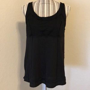 Lululemon cinch bottom tank.